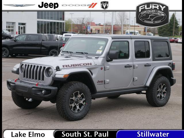 2019 Jeep Wrangler Unlimited Rubicon 4x4 St. Paul MN