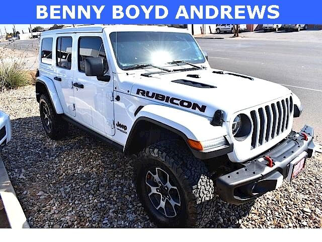 2019 Jeep Wrangler Unlimited Rubicon Andrews TX