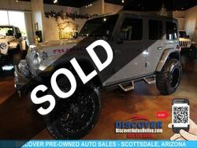 Jeep Wrangler Unlimited Rubicon Outlaw OffRoad Pkg Scottsdale AZ