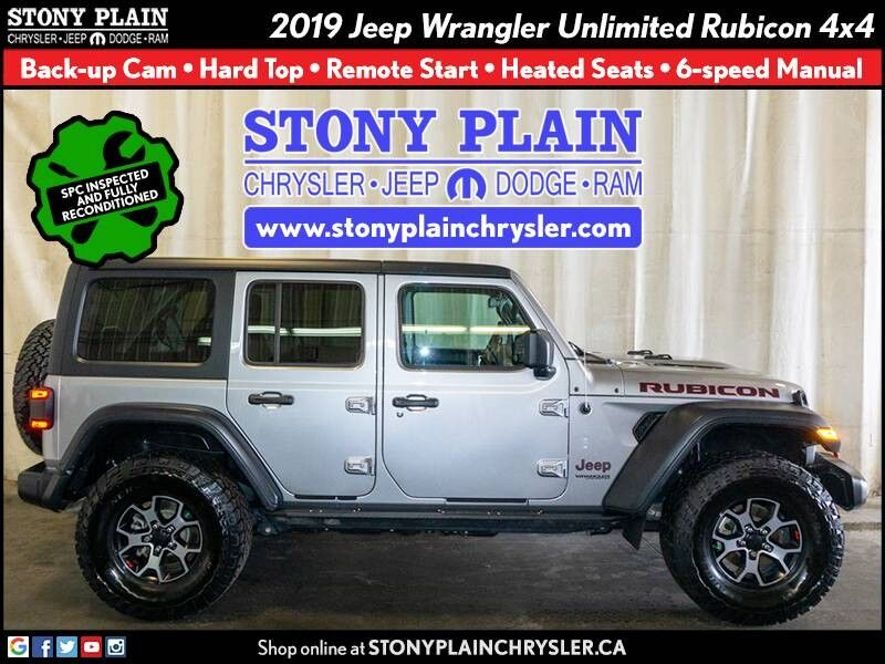 2019 Jeep Wrangler Unlimited Rubicon Stony Plain AB
