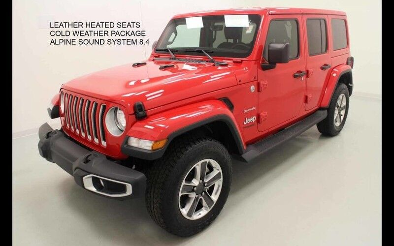 2019 Jeep Wrangler Unlimited Sahara 4X4 Bonner Springs KS