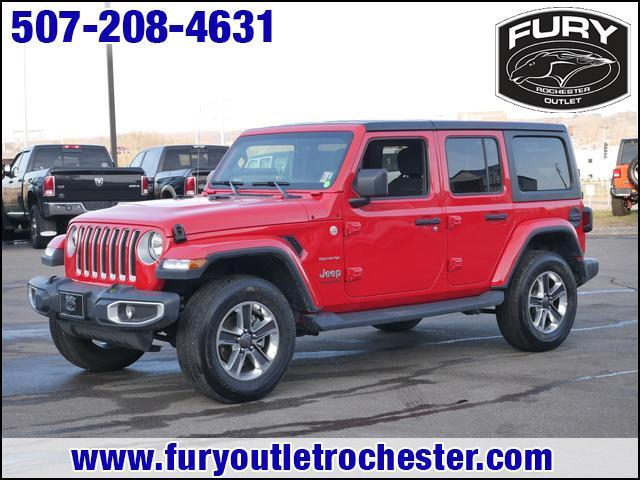 2019 Jeep Wrangler Unlimited Sahara 4x4 St. Paul MN