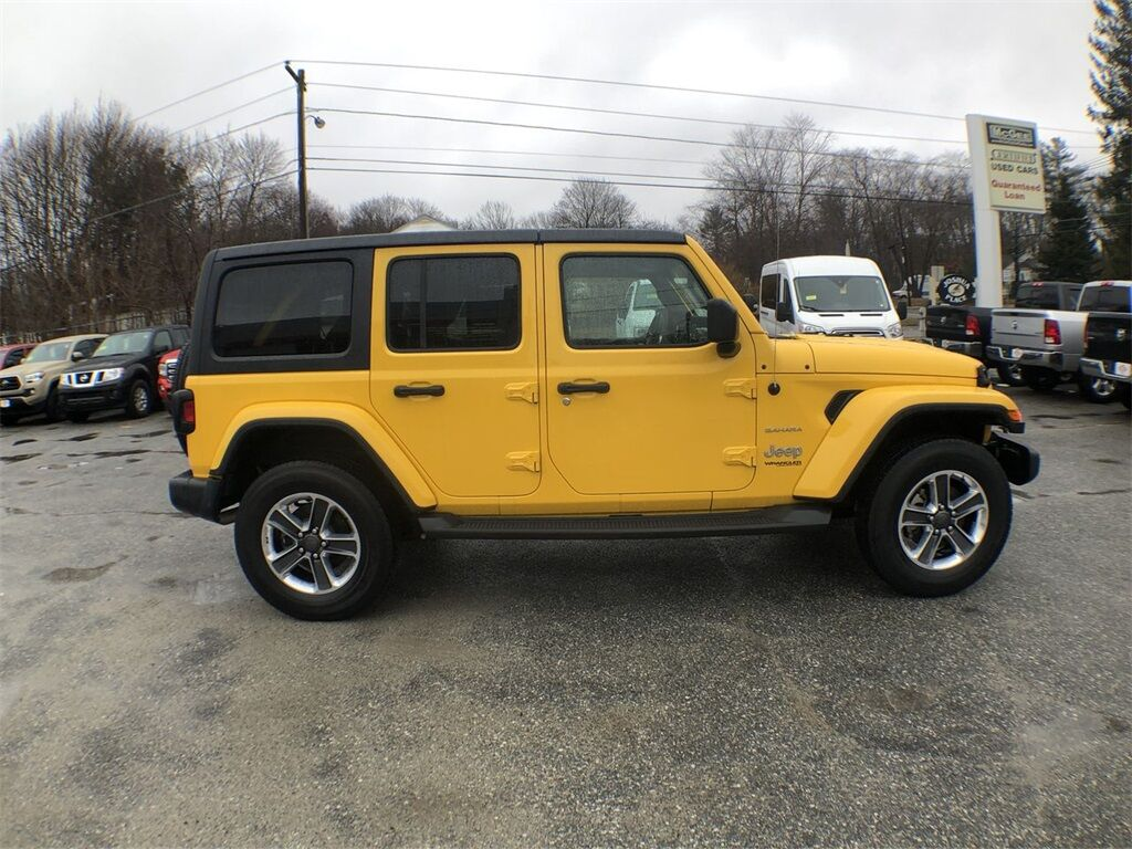 2019 Jeep Wrangler Unlimited Sahara Dudley MA