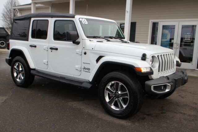 2019 Jeep Wrangler Unlimited Sahara East Windsor CT