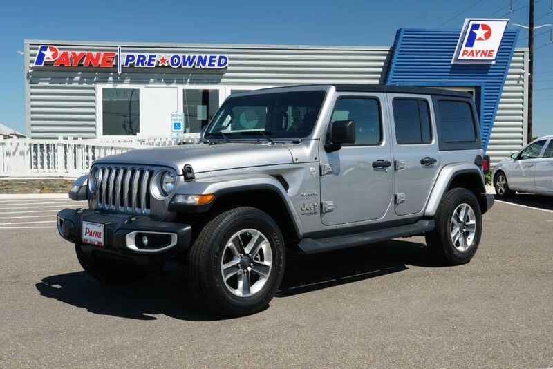 2019 Jeep Wrangler Unlimited Sahara Edinburg TX