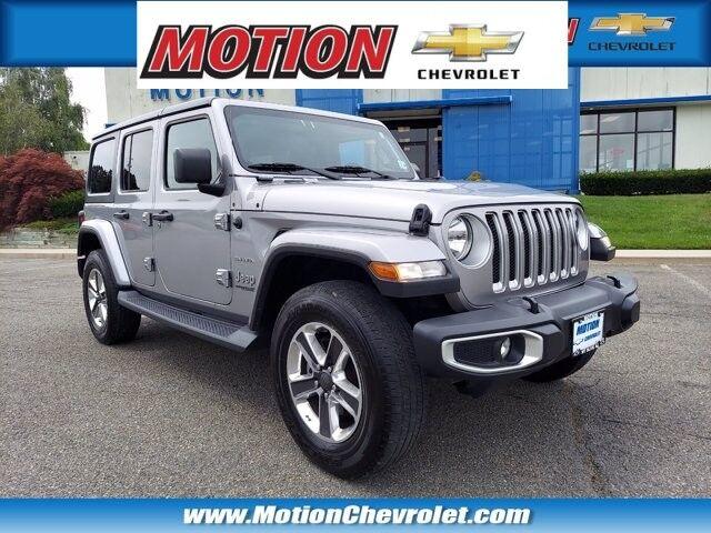 2019 Jeep Wrangler Unlimited Sahara Hackettstown NJ