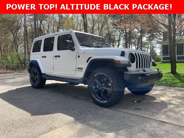 2019 Jeep Wrangler Unlimited Sahara Holland MI