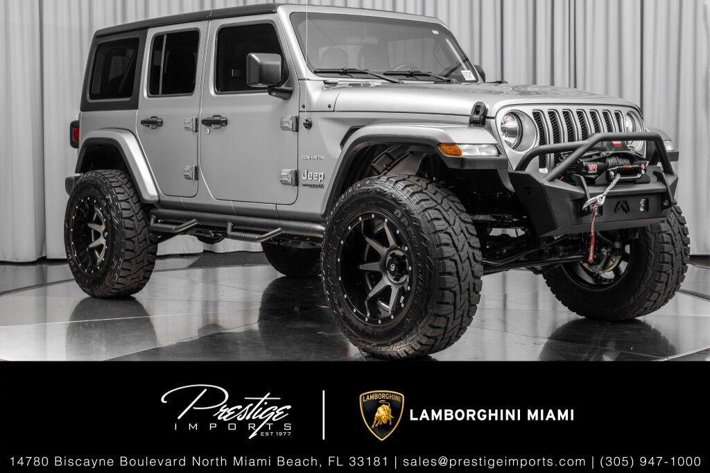 2019 Jeep Wrangler Unlimited Sahara North Miami Beach FL