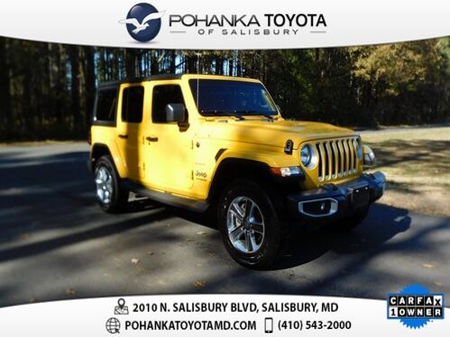 2019_Jeep_Wrangler_Unlimited Sahara_ Salisbury MD