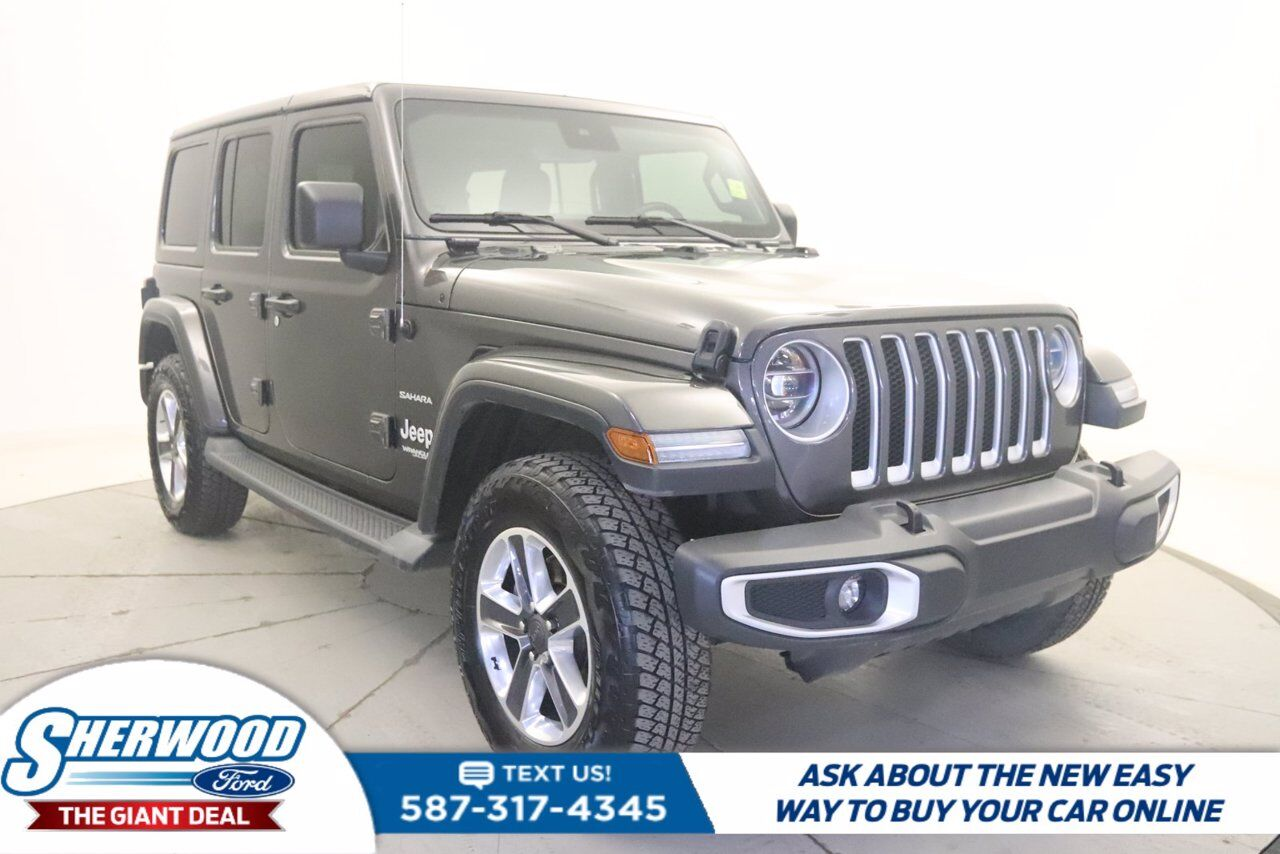 2019 Jeep Wrangler Unlimited Sahara Sherwood Park AB