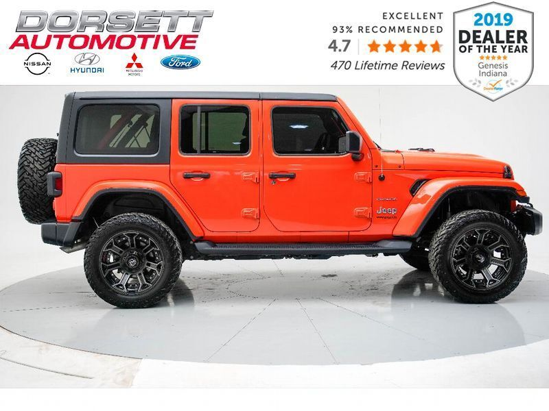 2019 Jeep Wrangler Unlimited Sahara Terre Haute IN