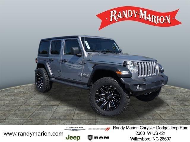 2019 Jeep Wrangler Unlimited Sport  NC