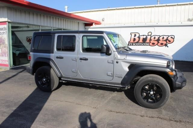 2019 Jeep Wrangler Unlimited Sport 4x4 Fort Scott KS