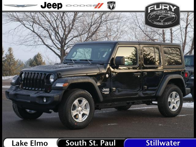 2019 Jeep Wrangler Unlimited Sport 4x4 Stillwater MN