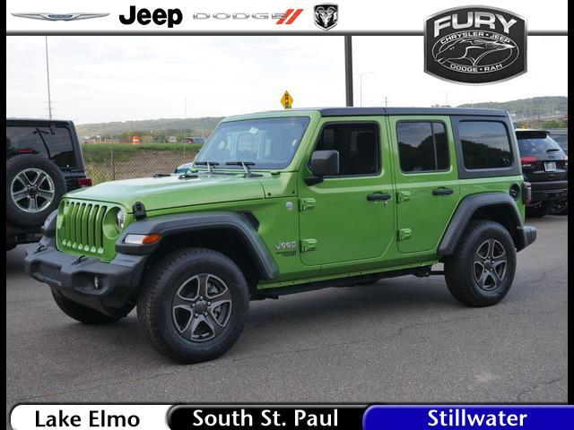 2019 Jeep Wrangler Unlimited Sport 4x4 St. Paul MN