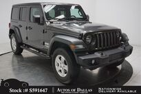 Jeep Wrangler Unlimited Sport CAM,SUNROOF,KEY-GO,17IN WHLS 2019