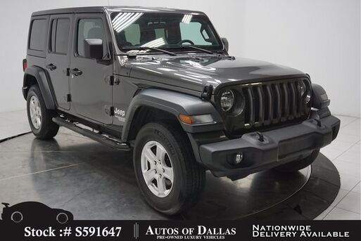 2019_Jeep_Wrangler_Unlimited Sport CAM,SUNROOF,KEY-GO,17IN WHLS_ Plano TX