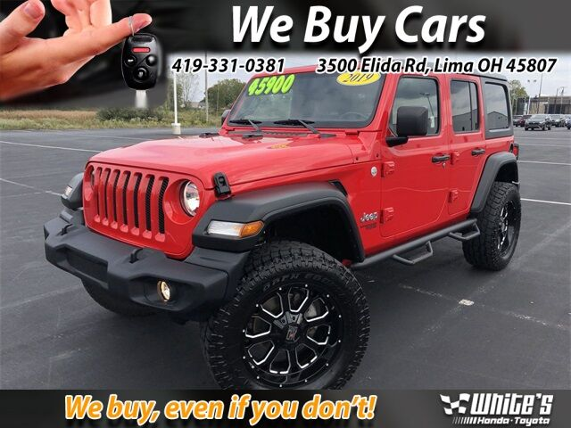 2019 Jeep Wrangler Unlimited Sport Lima OH