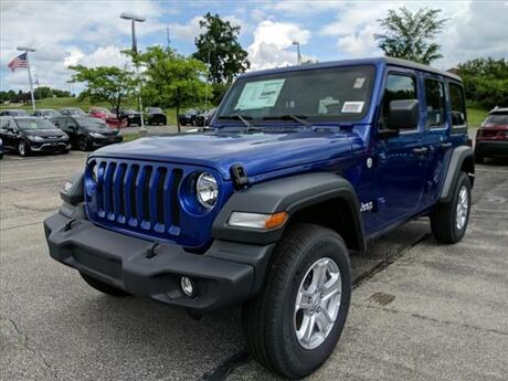 2019 Jeep Wrangler Unlimited Sport Milwaukee and Slinger WI