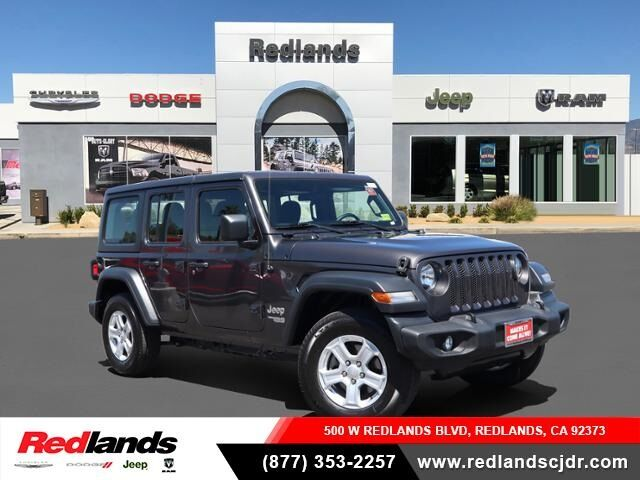 2019 Jeep Wrangler Unlimited Sport Redlands CA