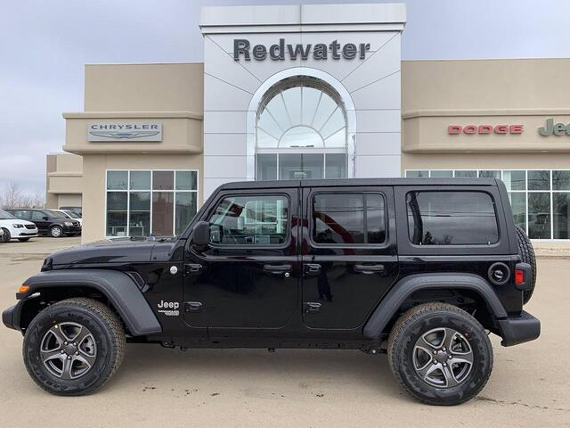 2019 Jeep Wrangler Unlimited Sport Redwater AB