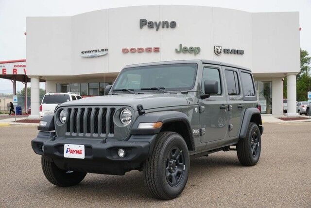 2019 Jeep Wrangler Unlimited Sport Rio Grande City TX