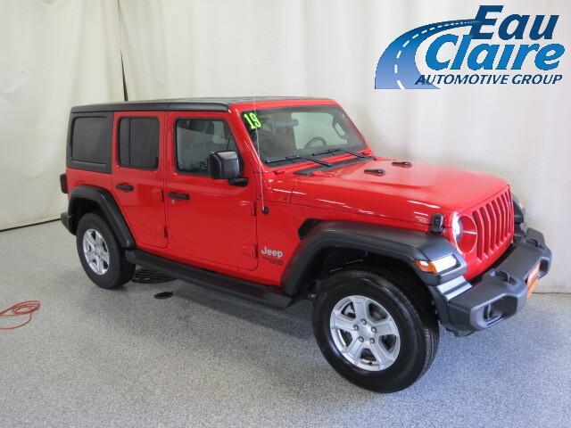 2019 Jeep Wrangler Unlimited Sport S 4x4 Altoona WI