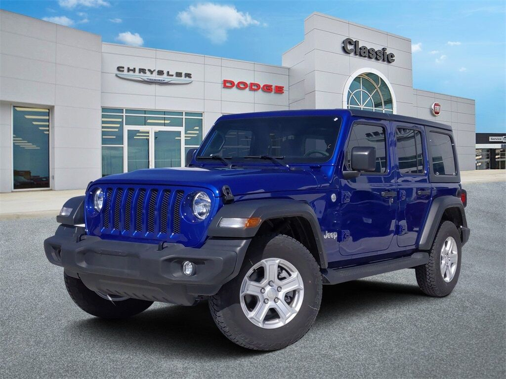 2019 Jeep Wrangler Unlimited Sport S Arlington TX