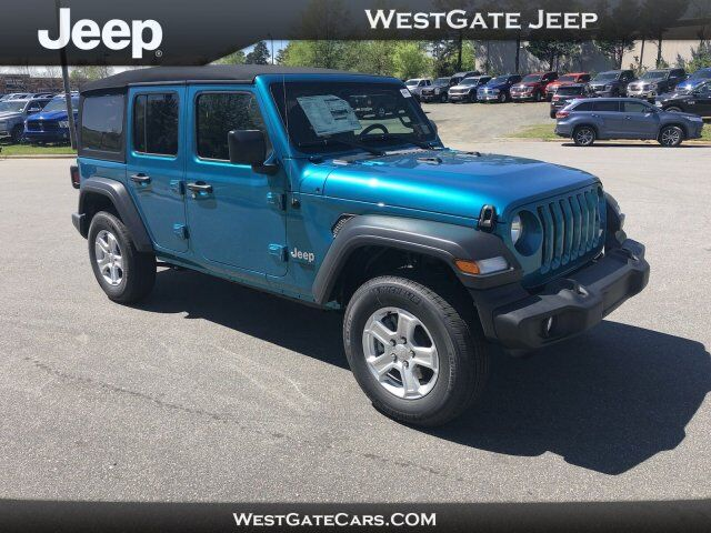 2019 Jeep Wrangler Unlimited Sport S Raleigh NC