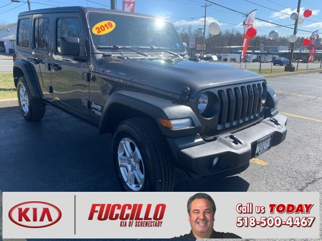 2019 Jeep Wrangler Unlimited Sport Schenectady NY