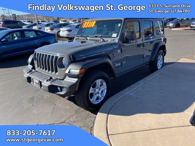 2019 Jeep Wrangler Unlimited Sport St. George UT