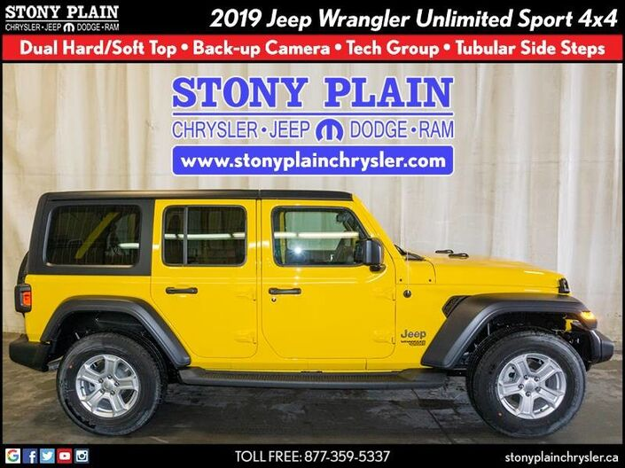 2019 Jeep Wrangler Unlimited Sport Stony Plain AB