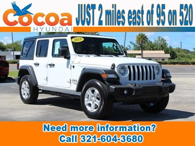 2019 Jeep Wrangler Unlimited Unlimited Sport Cocoa FL