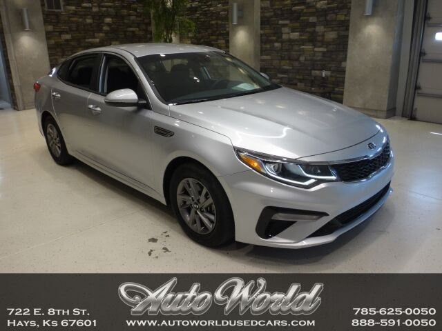 2019 KIA OPTIMA LX  Hays KS