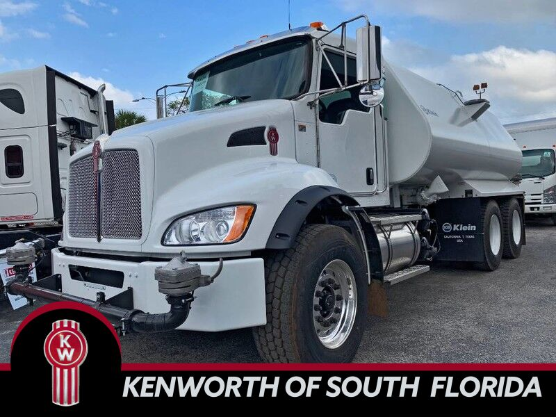 2019 Kenworth T370 4,000 GALLON WATER TRUCK Fort Lauderdale FL