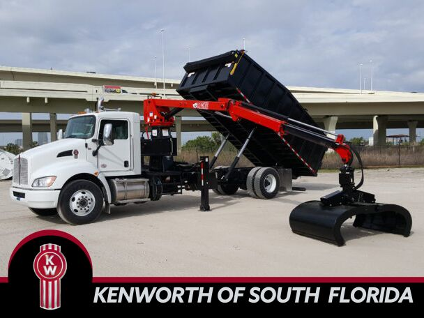 2019 Kenworth T370 Grapple