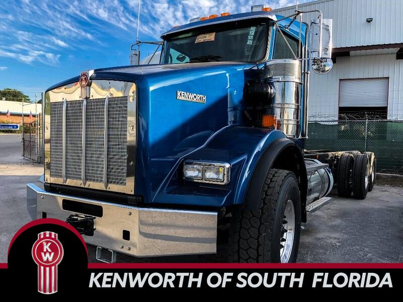 2019 Kenworth T800 Cab & Chassis Fort Lauderdale FL 29186316