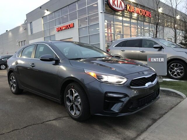 "2019 Kia Forte EX+ IVT FWD 2.0L *SUNROOF/17"" ALLOY WHEELS MACHINE FINISH/LED INTERIOR LIGHTING* Edmonton AB"