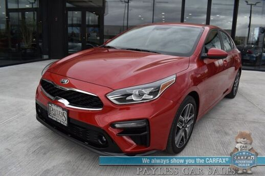 2019 Kia Forte S / Automatic / Sunroof / Bluetooth / Back Up Camera / Lane Departure Alert / Cruise Control / Aluminum Wheels / 40 MPG / 1-Owner Anchorage AK
