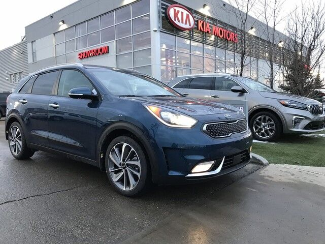 2019 Kia Niro SX TOURING FWD 1.6L GDI *FULL LEATHER HEATED SEATS/IMS MEMORY DRIVER SEAT/FRONT & REAR SENSORS/HEATED REAR SEATS* Edmonton AB