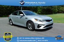 2019 Kia Optima LX ** Pohanka Certified 10 Year / 100,000  **