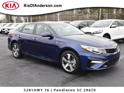 2019_Kia_Optima_S_ Greenville SC