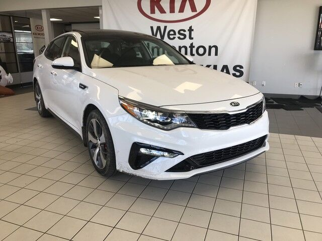 2019 Kia Optima SX FWD 2.0L TURBO *PREMIUM LEATHER HEATED SEATS/MOUNTED PADDLE SHIFTERS/LARGER FRONT BRAKES/ELECTRONIC PARKING BRAKE* Edmonton AB