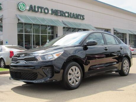 2019 Kia Rio LX CLOTH SEATS, BACKUP CAMERA, BLUETOOTH CONNECTIVITY, USB/AUX INPUT, CLIMATE CONTROL, UNDER WARR Plano TX