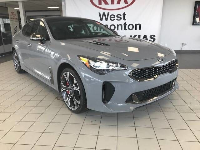 2019 Kia STINGER GT Limited AWD V6 TWIN TURBO *360 CAMERA MONITORING SYSTEM/AIR COOLED FRONT SEATS/NAPPA NOIR LEATHER* Edmonton AB