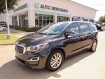 2019 Kia Sedona EX LEATHER, 3RD ROW SEATING, BACKUP CAM, BLIND SPOT, HTD FRONT STS, KEYLESS START, CLIMATE CONTROL