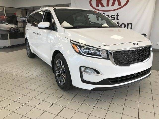 2019 Kia Sedona SX+ FWD 3.3L *LEATHER HEATED SEATS/POWER MEMORY DRIVER SEAT & LUMBAR/BLIND SPOT DETECTION SYSTEM* Edmonton AB