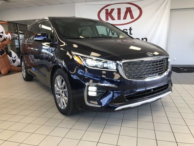 2019 Kia Sedona SXL FWD V6 *PREMIUM NAPPA LEATER HEATED & COOLED FRONT SEATS/FRONT & REAR PARKING SENSORS/SUNROOF* Edmonton AB