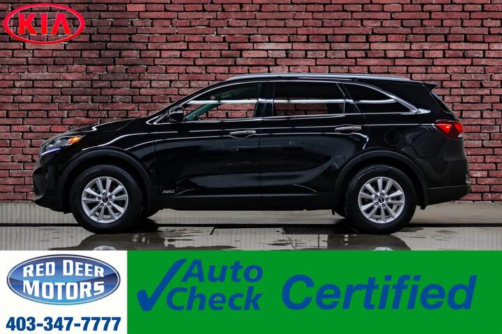 2019 Kia Sorento AWD EX Leather BCam 3rd Row Red Deer AB