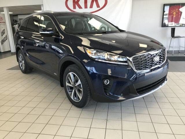 2019 Kia Sorento EX AWD V6 7 SEATER *HEATED LEATHER SEATS/BLUETOOTH/BLIND SPOT DETECTION* Edmonton AB